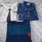 Boys Shirts Sizes 14-16 Three Shirts Short Sleeve