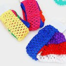 Headbands Crochet Knit Polyester  Sets of Four Choose Colors Top Style