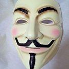 V for Vendetta Mask Evil Man One Size USA Fast