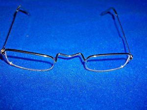 Santa Claus Eyeglasses  Costume Clear Gold  Frames Square Frame Theatrical