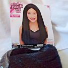 Wig Childs Long  Black Witch Elvira Hippie Mod Forum Quality Free Shipping