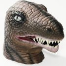 Dinosaur Latex Mask Reptile Park T-Rex Lizard Adult Head Costume Accessory NEW