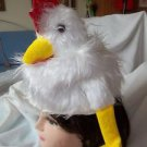 Chicken Hat Hen NEW Child Adult  Attention Getting Fuzzy Fun