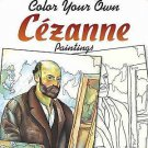 Adult Coloring: Dover Masterworks: Color Your Own Cezanne Paintings by Noble