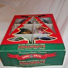 Christmas Tree Ornaments Ball Decorations 1940 designs Box of 6 Shiny Brite