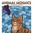 Adult Coloring: Animals Mosaics Coloring Book by Jessica Mazurkiewicz (2014, Pap