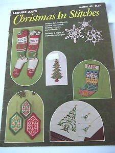 Counted Cross Stitch Patterns Vintage Gifts Christmas