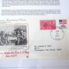 First Day of Issue 1975 Postal Com.Soc.  History First US Flag June 14  1777