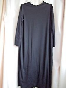 Robe Black Child 12-14 Rubies Costume  USA Made