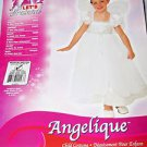 Rubies Angel Child Angelique Dress Wings Halo Hoop Small  Medium