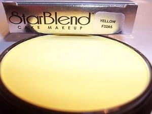 Mehron Yellow Star Blend Cake Pancake Water Base Stage Makeup Professional