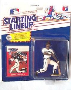 Starting Lineup Baseball Jeffrey Leonard  1998