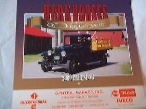 VTG Advertising Calendar Workhorses of Yesterday Trucks International Cummins