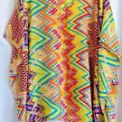 Poncho Scarf  Scarves Bright Yellow Red Blue Green Gift Box