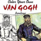 Adult Coloring: Dover Masterworks: Color Your Own Van Gogh Paintings by Noble