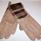 Woman's Gloves Fleece Lined Camel Beige  Wool Acrylic Warm Gift