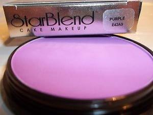Mehron Purple Star Blend Cake Pancake Water Base Stage Makeup Professional
