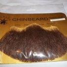 Beard Chin Human Hair Theatrical Professional Rubies #2022 Med Brn Lt Grey