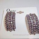 Earring Clip Black Sparkle Comfort Back Gift Special