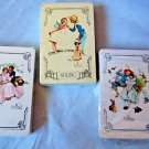 Norman Rockwell  Playing Cards Standard Poker Three Packs
