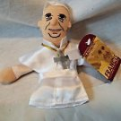 Pope Francis Unemployed Philosophers Plush Finger Puppet  Magnetic Personalities