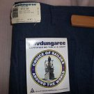 Vintage Bell Bottoms Blue  42 x 34 navdungaree  Navy Jeans 1988 Punk Denim NEW
