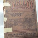 Vintage 1910 Silver Mfg.Farm Equip  Ohio Silage Cutter Catalogue and Price List