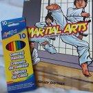Coloring Book Dover Martial Arts Include Colored Pencils Inter.l Martial Arts