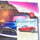 "Calendars Classic Cars  2017   12 Months Great Pictures 12"" x 12""  and 6""x6"""