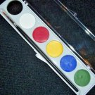 Mehron Water Works Water Color Makeup Palette Water Washable With Brush