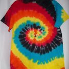 Costume Tie Tye Dye Shirt Eclipse 100% Cotton Adults    Ships Fast