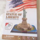 Puzzle 3 Dimension Statue of Liberty World's Great Architecture 39 Pieces