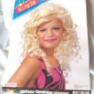 Wig  Bonde Curly Wig Child 80's pop Star Dress Up Rubies