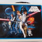 Star Wars Collectible TIN BOX Handle and Closure 2008 Two SW Cookie Cutters