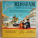 Living Russian Speak Russian in 6 Weeks 2 Cassette 1958 Crown Pub  40 Lessons