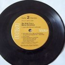 Vintag e 45 RPM RCA Victor Record We Wish You a Merry Christmas Julie Andrews Ma