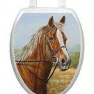 Toilet Tattoos Bathroom Decor Proud Moment  Horse Toilet Seat Brown Vinyl 1071