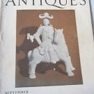 Magazine ANTIQUES  September 1928 Photographs Guns Lustreware Silhouettes