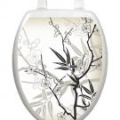 Toilet Tattoos Toilet Lid Cover  Decor Cherry Blossoms 1084