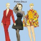 Costumes Paper Dolls Fashion Design of the Nineties Paper Dolls in Full Color