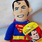 Superman  Unemployed Philosophers Plush Finger Puppet  Magnetic