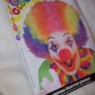 Wig Clown Wig Rainbow Color  Fuzzy Afro NEW Forum Adult Size Comfortable
