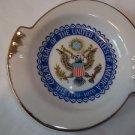 Seal of United States Souvenir Bi-Centennial  1976 Ashtray Ceramic