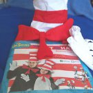 Dr Seuss Kit Adult  The Cat in the Hat Accessories  Dr Seuss  NEW