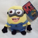 """Minions Plush Doll Despicable Me  Decor 9"""" with Hanger SMILING Decoration"""