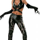 Sexy Mardi Gras Catwoman Deluxe Costume DC Comics Large 12-14 Ships Free
