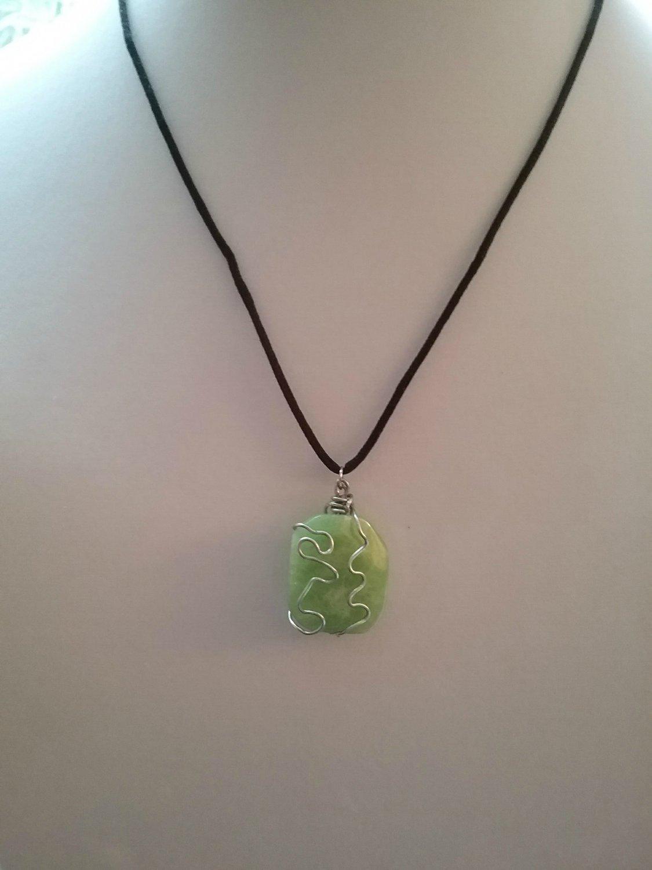 Apple Green Agate (#JAGR-1)