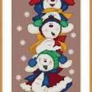 Cross-Stitch Embroidery Color Pattern with DMC thread codes - Happy Group