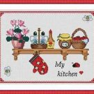 Cross-Stitch Embroidery Color Pattern with DMC codes - My Kitchen