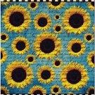 Beautiful Collectible Kitchen Fridge Refrigerator Magnet -Beautiful Sunflowers